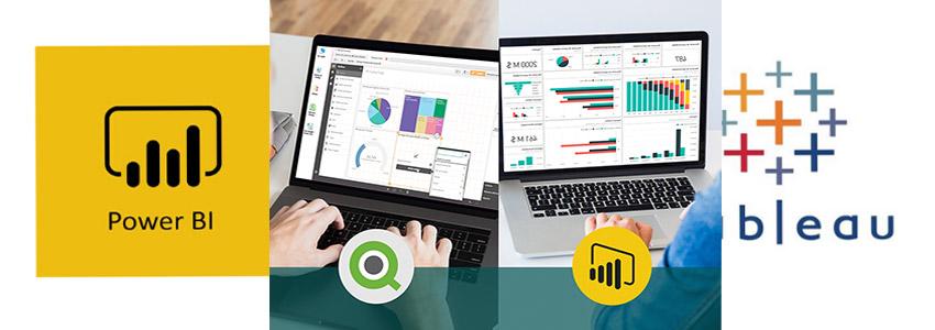 مقایسه سه ابزار هوش کسب و کار Qlik Sense v Power BI & Tableau